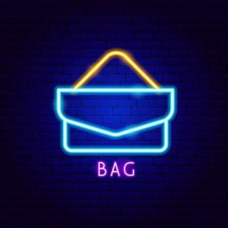 Bag Neon Label