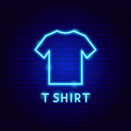 T-Shirt Neon Label