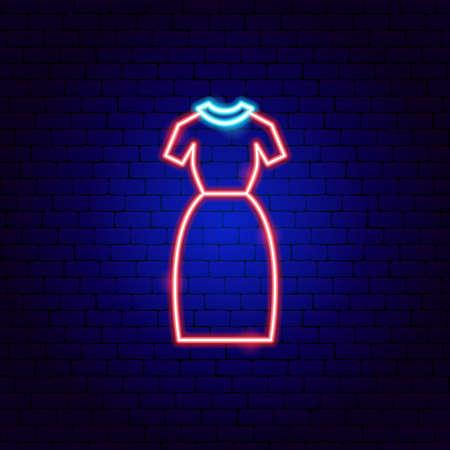 Office Dress Neon Sign