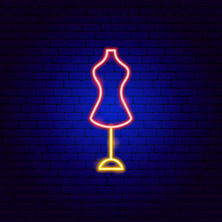 Mannequin Neon Sign