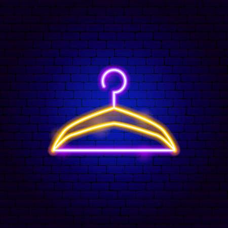 Hanger Neon Sign