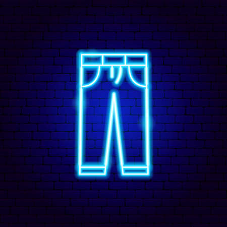 Trousers Neon Sign