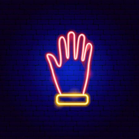 Glove Neon Sign