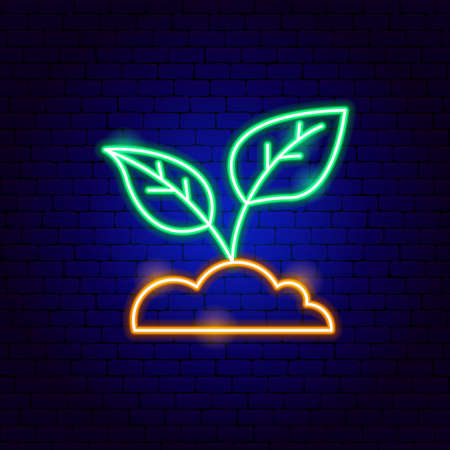 Plant Leaf Neon Sign