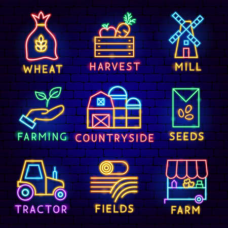 Countryside Label Set