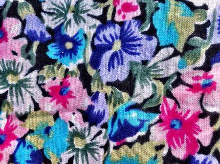 pastel colours: Tela floral en colores pastel