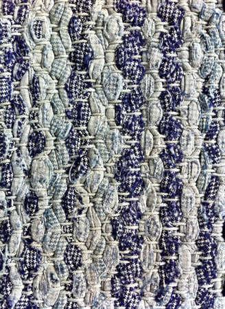 woven: Woven rag carpet as background