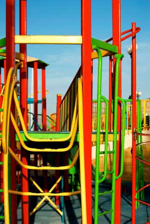 climbing frame: Parco giochi per bambini con struttura rampicante