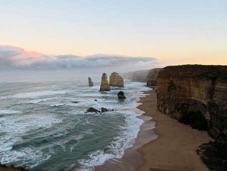 12: Australia 12 apostoles Stock Photo