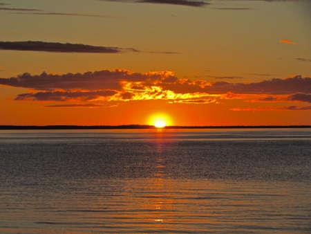 Australia Sunset at Fraser Island