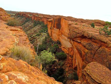 Australia Kings Canyon outback
