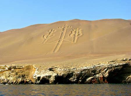 Candelabra, The Paracas Peninsula, Peru