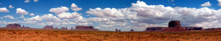 Monument Valley US panoraomic Standard-Bild