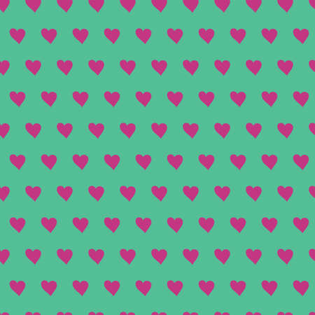 Cool blue Seamless pattern with little hearts. Perfect for background and scrapbooking paper