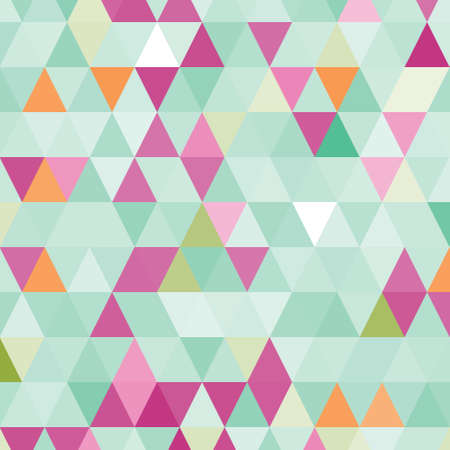 Abstract pattern with triangles.