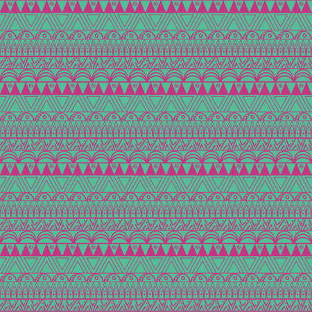 Aztec blue seamless pattern in vector. Perfect for textile and scrap booking.