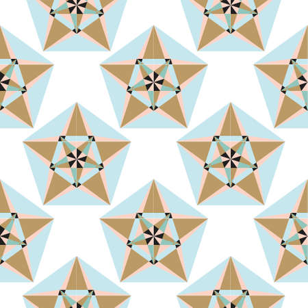 Sacred geometry pattern in vector. Arabic pattern background