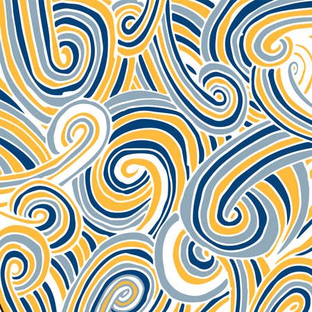 abstract background navy doodle vector