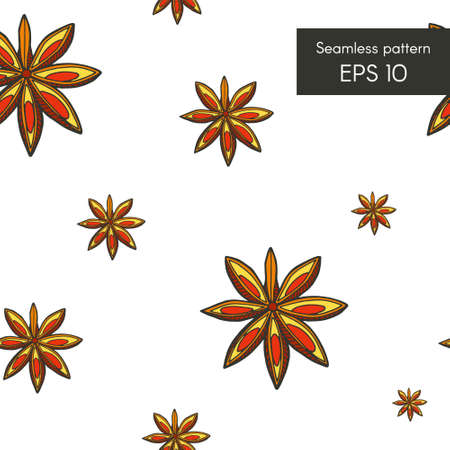 intricacy: Seamless pattern with flower mandala for cards, invitations and other Illustration