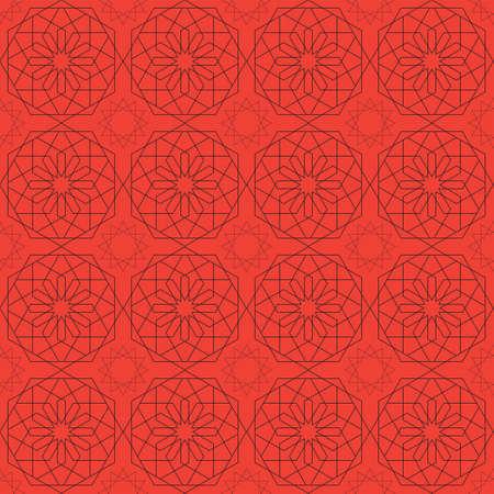 auspicious: Sacred geometry pattern in . Arabic pattern background