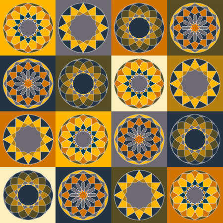 india culture: Sacred geometry pattern in . Arabic pattern background