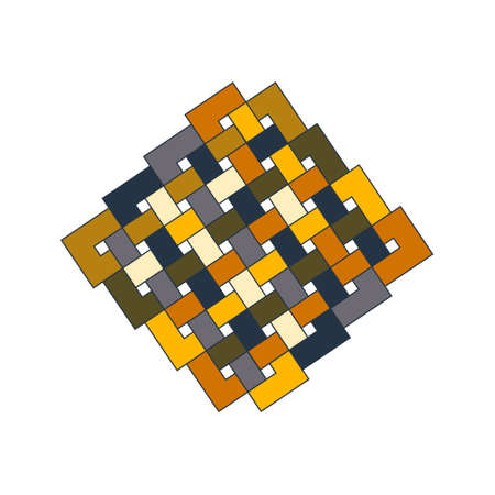 Sacred geometry pattern in  arabic pattern background.