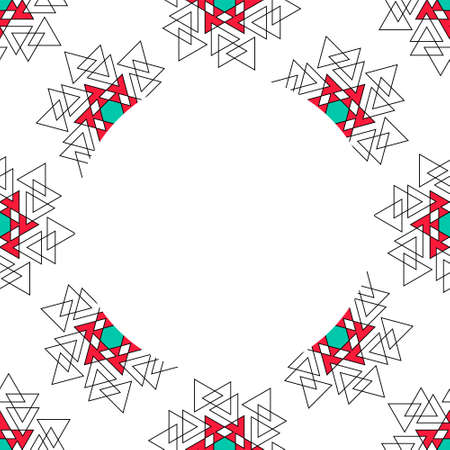 Sacred geometry pattern in . Arabic pattern. Perfect for cards, wedding invitations and wrapping paper Çizim