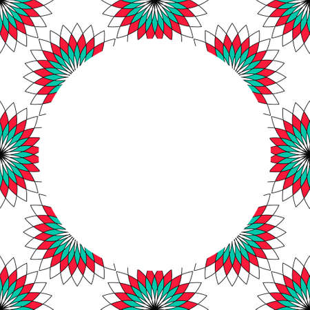 Sacred geometry pattern in . Arabic pattern background. Perfect for cards, wedding invitations and wrapping paper Illustration
