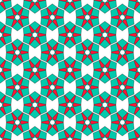 auspicious: Sacred geometry pattern in . Arabic pattern background. Perfect for cards, wedding invitations and wrapping paper Illustration