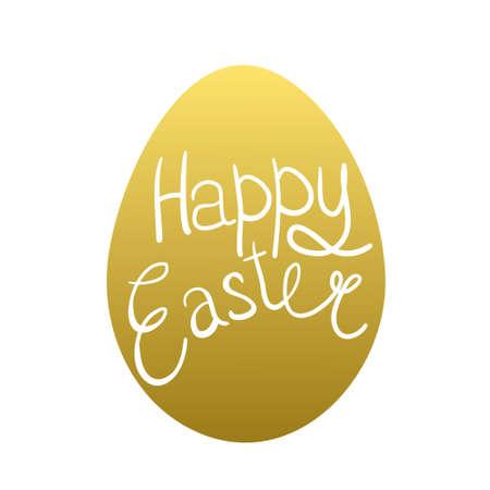 eastertide: Easter eggs isolated.  illustration. Happy easter background Illustration