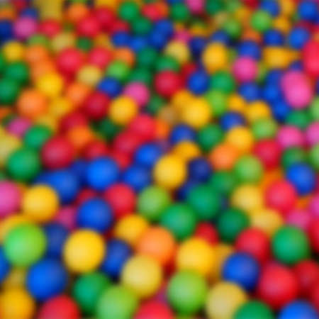 photography backdrop: Blurred background with color balls.  illustration.