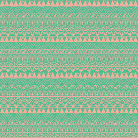 Aztec seamless pattern in vector. Perfect for textile and scrap booking.