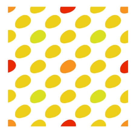 Mango seamless pattern in flat style.  Vector illustration for print, fabric and creaive design