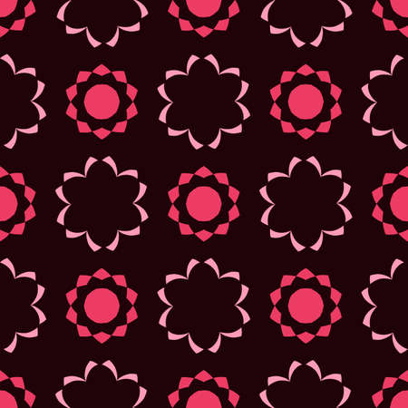 Seamless pattern set in arabic style. Vector illustration