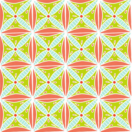 Indian pattern in hand drawn style. For print, web and creative design. Vector illustration Illustration