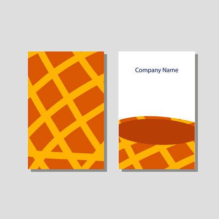 Vector knitting shop and crochet store visit card in flat style 스톡 콘텐츠 - 107576906