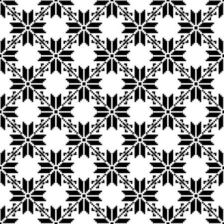 Norway fairisle seamless pattern design in vector