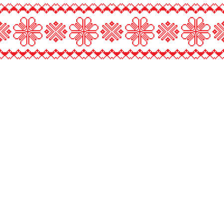 Norway fairisle sweater design in vector