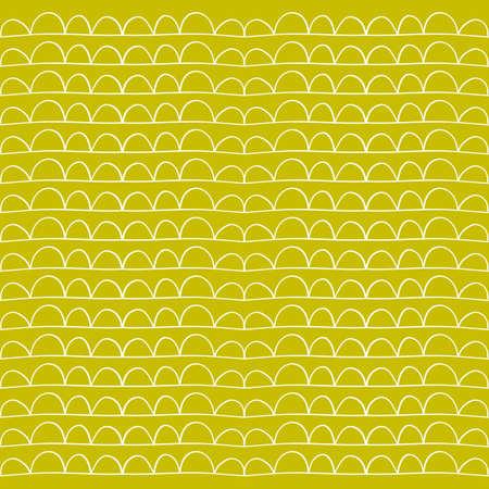 Scandinavian abstract pattern for creative design - web, print, textile. Vector illustration Ilustração