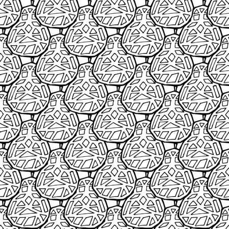 Pear fruit seamless pattern in hand drawn style. Vector illustration. Perfect for print, kitchen, textile Illusztráció