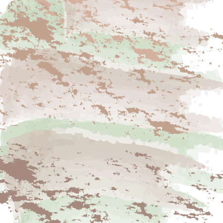 Abstract marbled ink background. Hand drawn texture with liquid paint. Vector illustration. Vectores