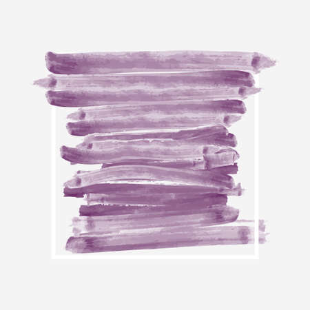 Brush stroke and texture. Vector design. Underline Illustration