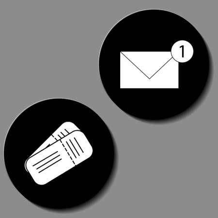 Money icons set. Vector illustration wallet, bag, pound sterling and credit card