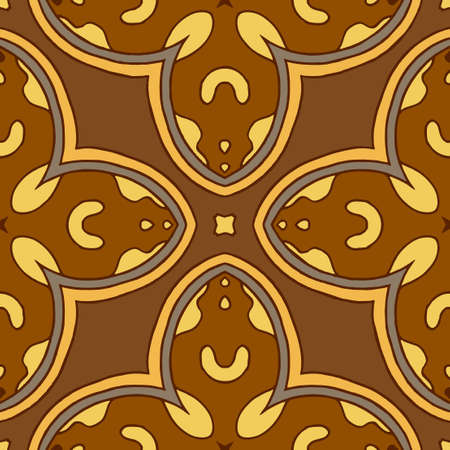 Seamless pattern. Strict geometric ornament in a classic style.