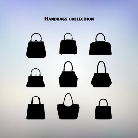 handbags: Vector set of handbags. Illustration