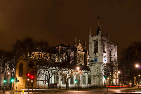 Westminser abbey, London, England, at night Stock Photo - 20209696