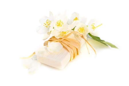 Jasmin soap for spa and relax photo