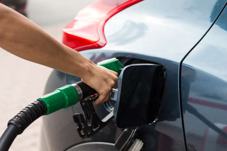 Buying petrol Stock Photo - 23997244