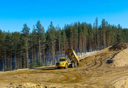 Construction transport photo