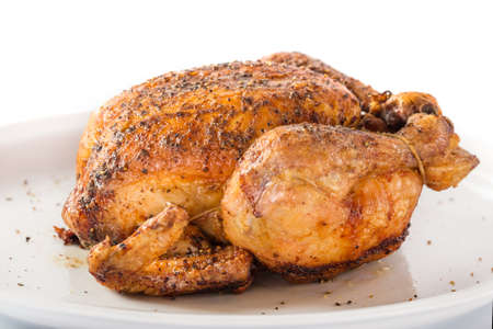 Roasted chicken photo